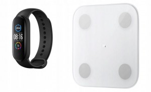 Waga Xiaomi Mi Body Composition Scale 2 + Miband 5