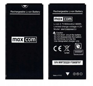 ORYGINALNA BATERIA do MAXCOM MM720 MM721 800 mAh