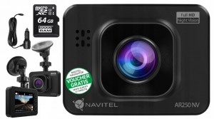 Wideorejestrator Navitel DVR AR 250 NV FullHD 64GB